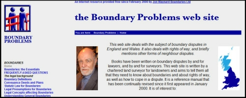 Click here to go to Boundary Problems web site
